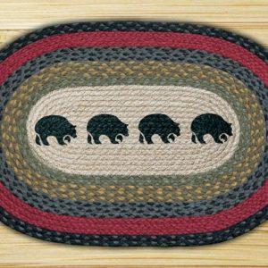 4 Bears Rug # 181