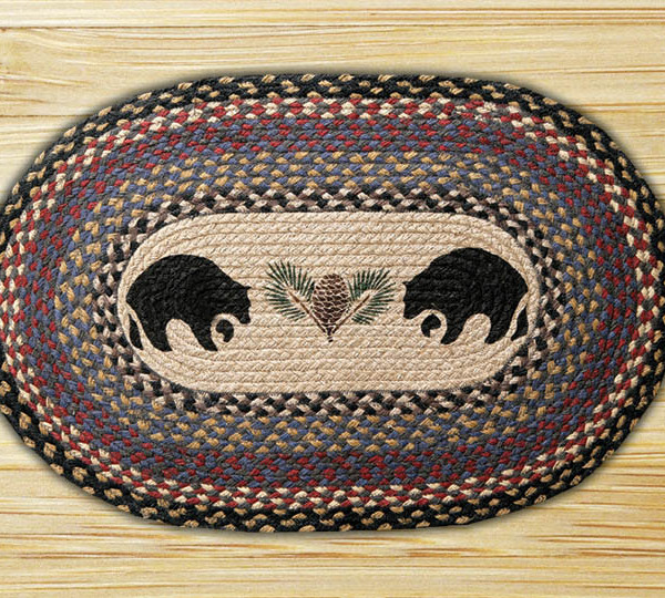 Black Bear Rug #194