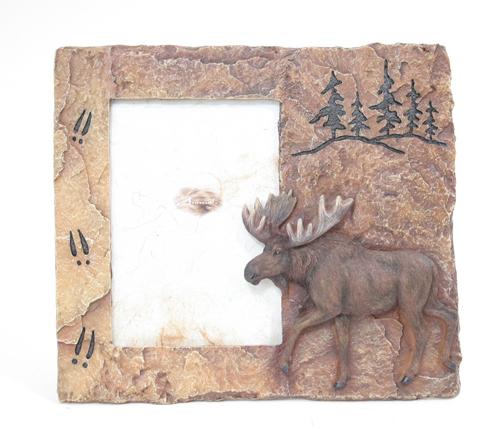 Moose Stone Frame | American Bear Association