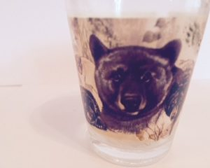Many Bear Shot glass
