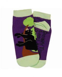Beary tired sock