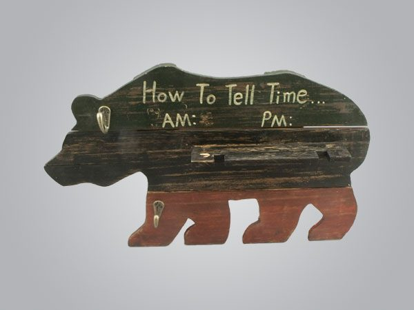 Bear How to Tell Time