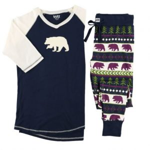 bear isle pant and tee
