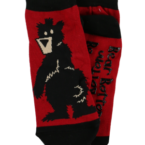adult bear bottom sock
