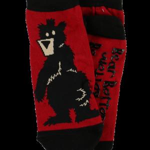 adult bear bottom sock
