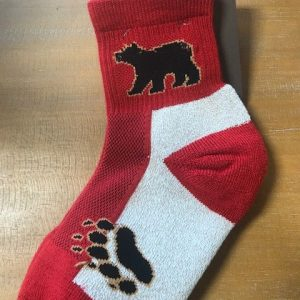 red paw sock