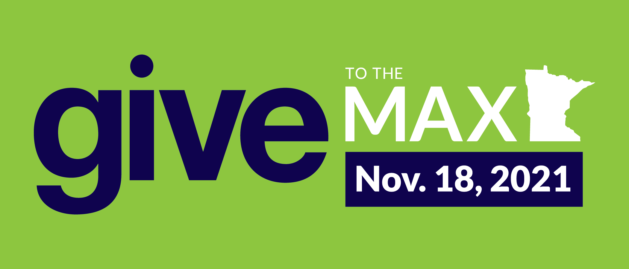 SAVE THE DATE: GIVE MN 2021 is November 18th!
